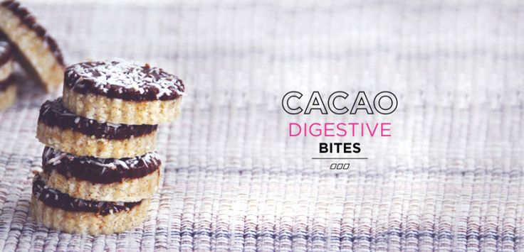 Treat Yourself: Cacao Digestive Bites To Curb That Sweet Craving! - Move Nourish Believe