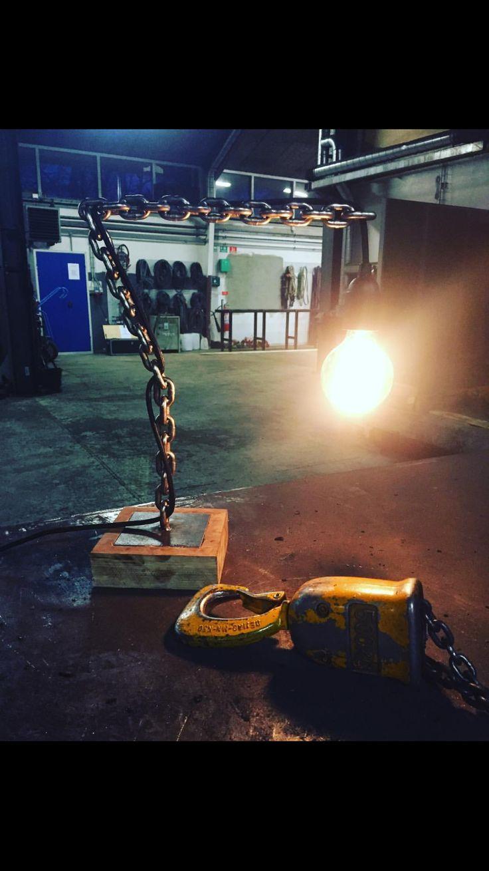 Industrial lamp Homemade