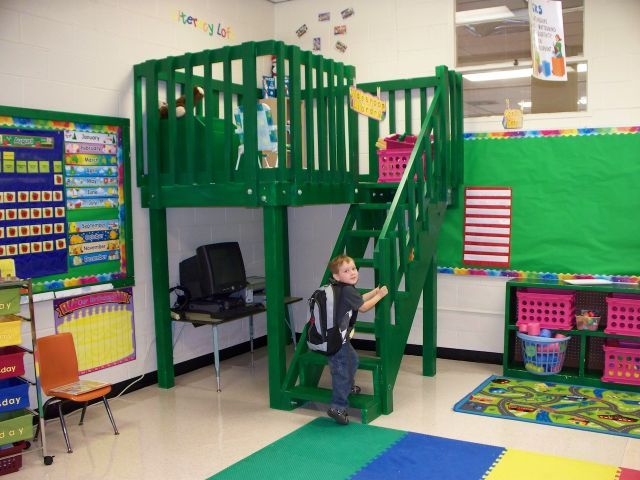 Reading Classroom Design ~ Best images about lofts for classroom on pinterest
