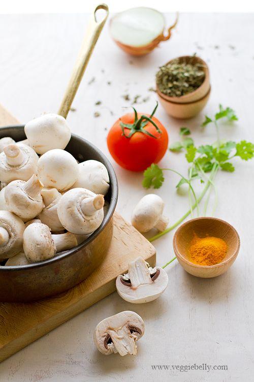 Mushroom Tikka Masala | Mushroom Tikka Masala Recipe | Easy Recipes at ...