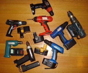 Cordless Drill Battery Maintenance