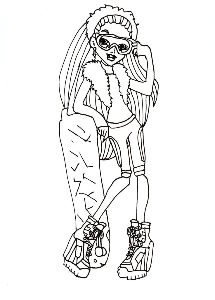 Monster High Free Printables