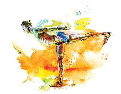"""Check out new work on my @Behance portfolio: """"The Art of Yoga"""" http://be.net/gallery/58269621/The-Art-of-Yoga"""