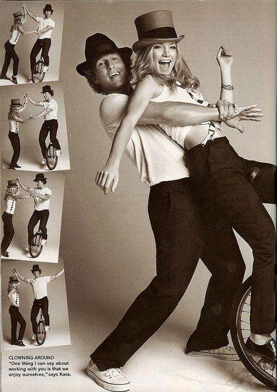 Kate Hudson & Matthew Mcconaughey In Glamour Magazine Feb 2008