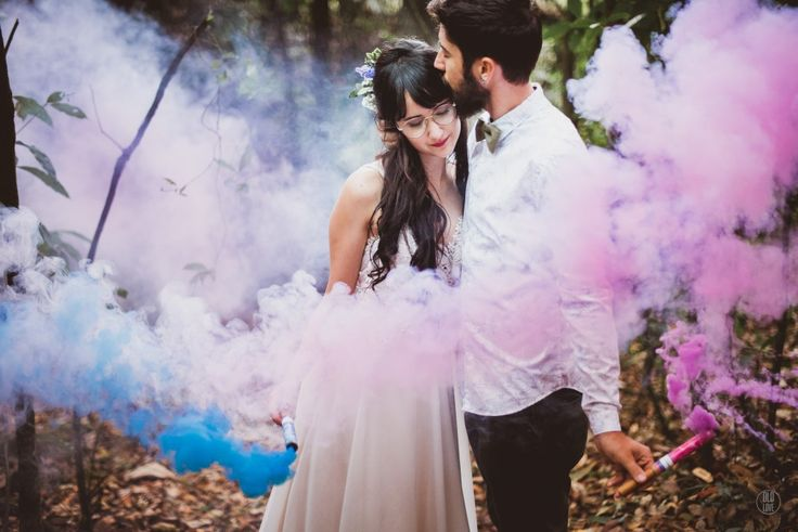 LUIZA + RAFAEL – {PQ. DAS MANGABEIRAS – BELO HORIZONTE/MG} fumaça colorida, fotografia casamento sensível, romântica, casamento ao ar livre, casamento no campo