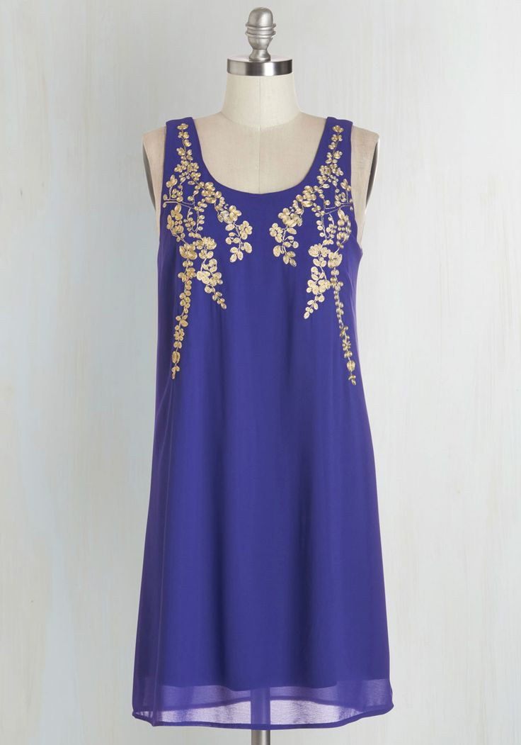 Special Occasion - Everything Exquisite Dress in Indigo