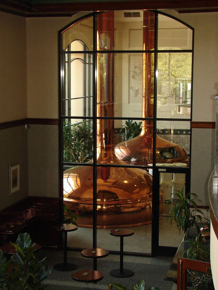 Copper Kettles At The Sierra Nevada Brewing Company In Chico, CA   Founded  In 1980