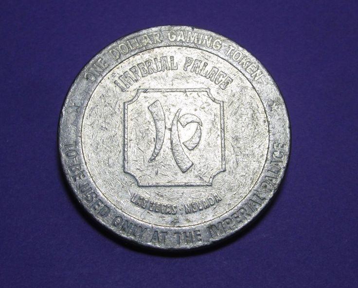 Imperial Palace Las Vegas 1 Dollar Token by Nevadamadam on Etsy