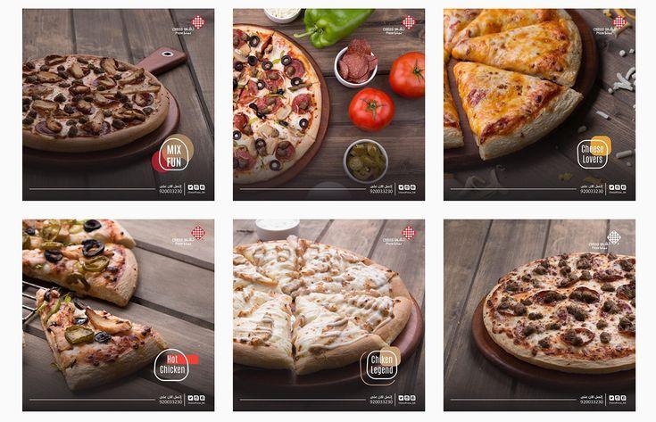 Chess Pizza | Branding 2017 on Behance