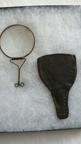 Rare Antique 18th Century Burning Lens Magnifying Glass