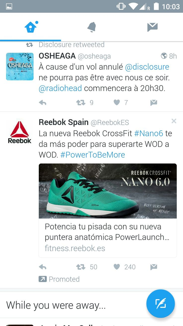Twitter -  I was in Barcelona when this advert appeared on my timeline
