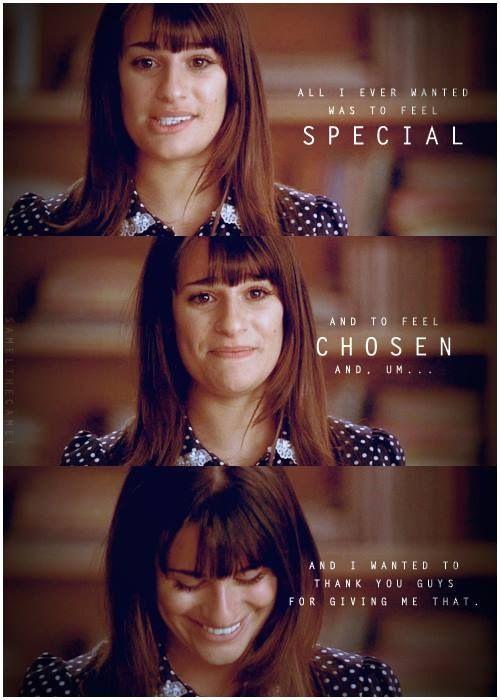 Rachel Berry ❤ Glee