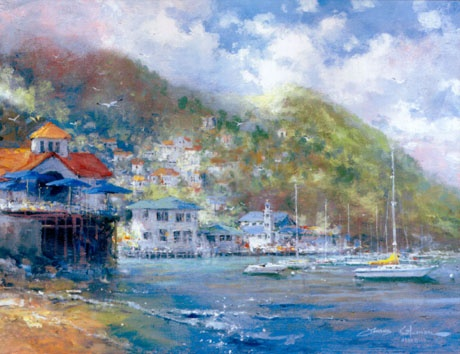 Anchored in Avalon by James Coleman