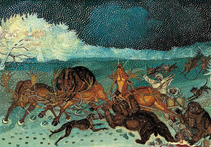 Antonio Ligabue - Traversata della Siberia   Artribune
