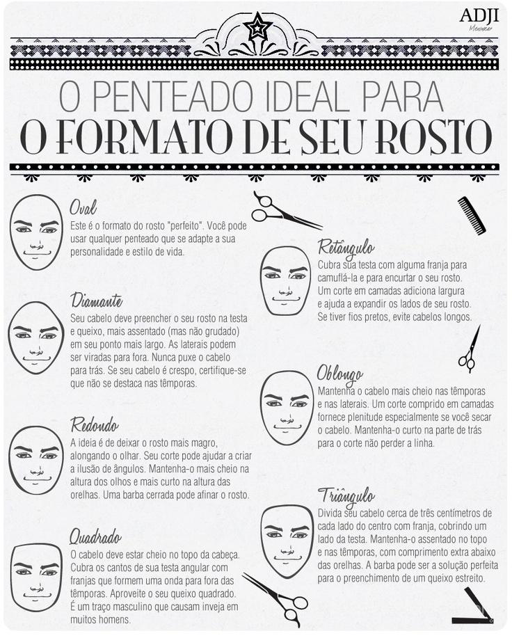 O penteado ideal para o seu tipo de rosto