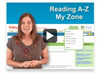 reading a-z- create books for any level