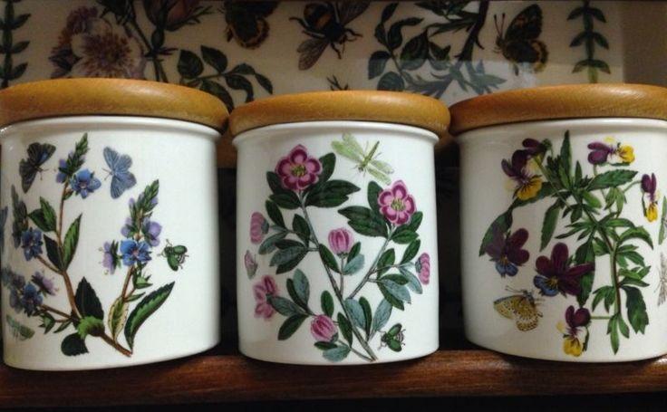 "Collecting Portmeirion Pottery ~ ""The Botanic Garden 1818""  Made in England ~ Love!!"