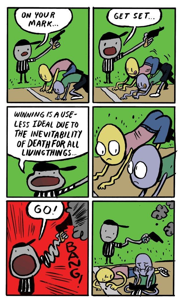 6 Hilariously Bleak Comics To Put Your Monday In Perspective