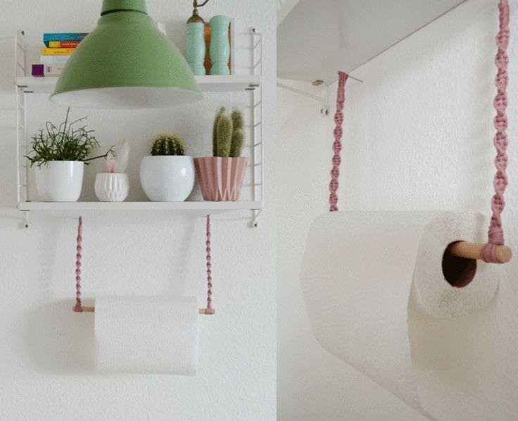 ber ideen zu k chenrollenhalter auf pinterest wc rollenhalter kupferrohr und. Black Bedroom Furniture Sets. Home Design Ideas