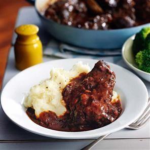 Rich ox cheek stew Recipe | delicious. ~ Valentine Warner