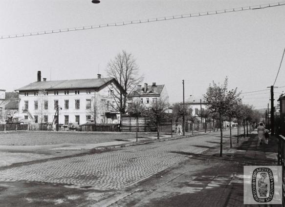 Skoczów: kiedyś i dziś. Ulica Mickiewicza