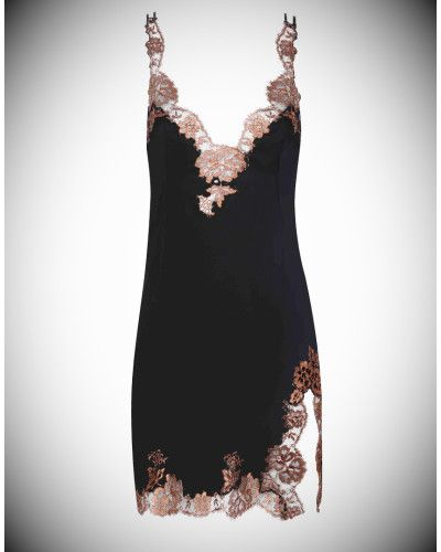 Agent Provocateur | Brown Gulia Short Slip | Lyst