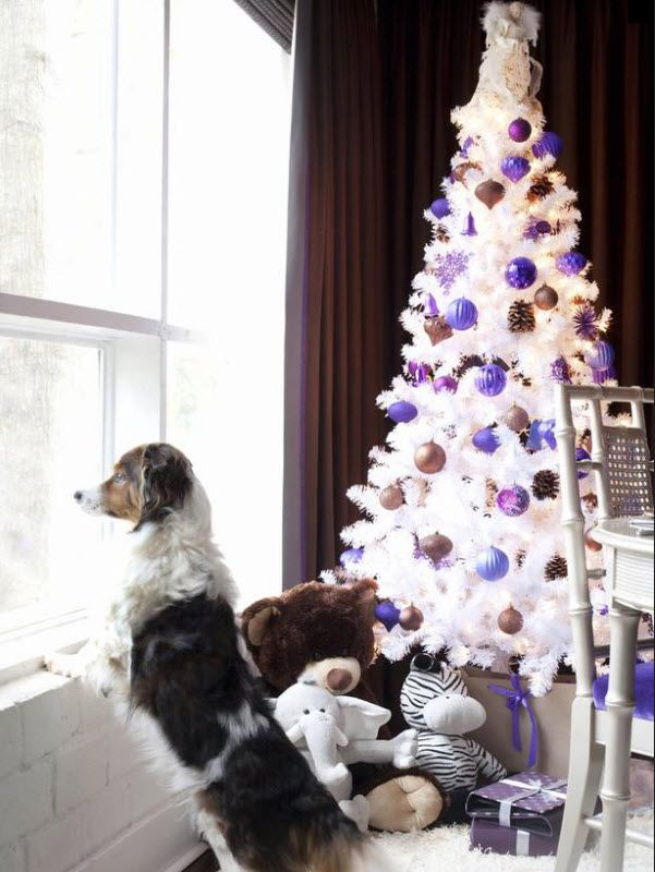 Masculine Christmas Tree 37 best colored christmas tree inspiration images on pinterest