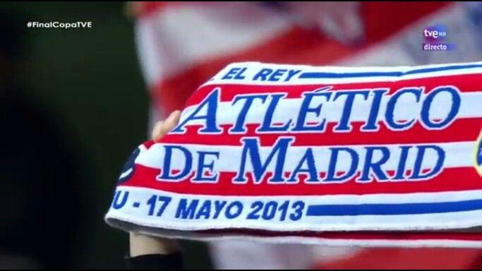 Copa del Rey 2013 ATLETICO DE MADRID