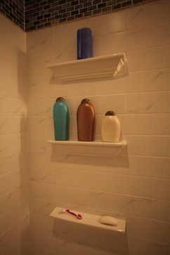 Bathroom Niche & Shelf Store - traditional - shower caddies - dc metro - Bathroom Tile Shower Shelves