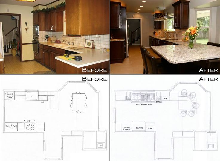 Galley Kitchen Remodel Before And After 433 best home designs images on pinterest | architecture, dream