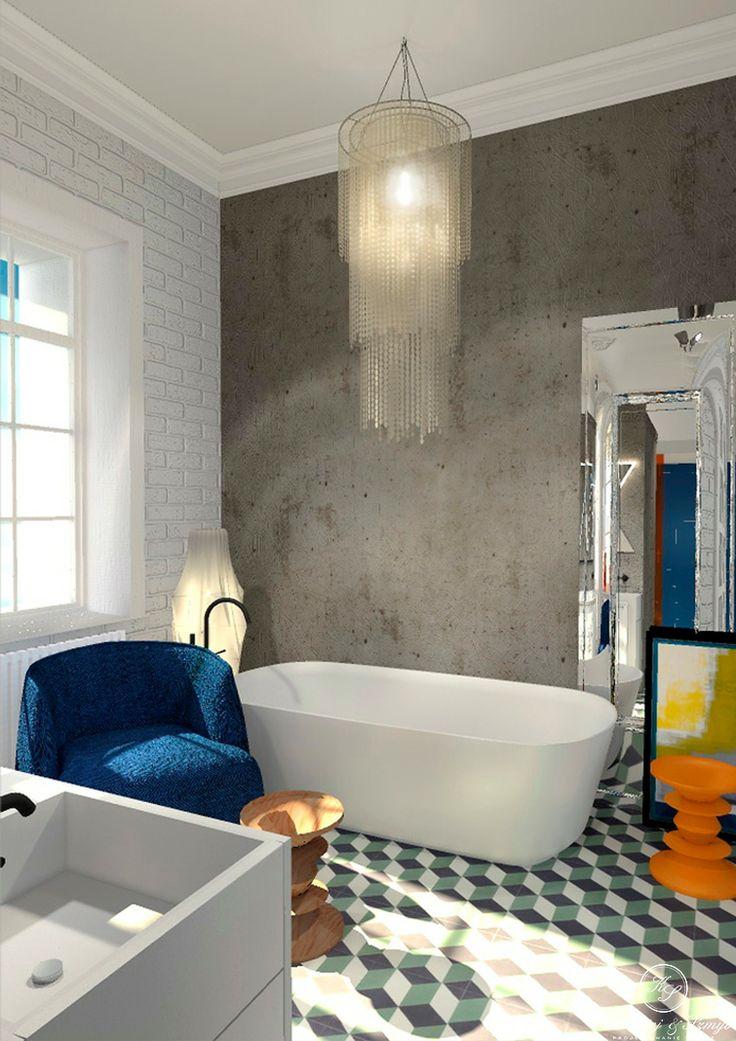 Modern classic and orginal bathroom by Kolodziej & Szmyt.