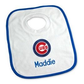 8 best chicago cubs baby gifts images on pinterest baby gifts chicago cubs personalized pullover bib chicago cubs at designs by chad jake personalized baby gifts negle Gallery