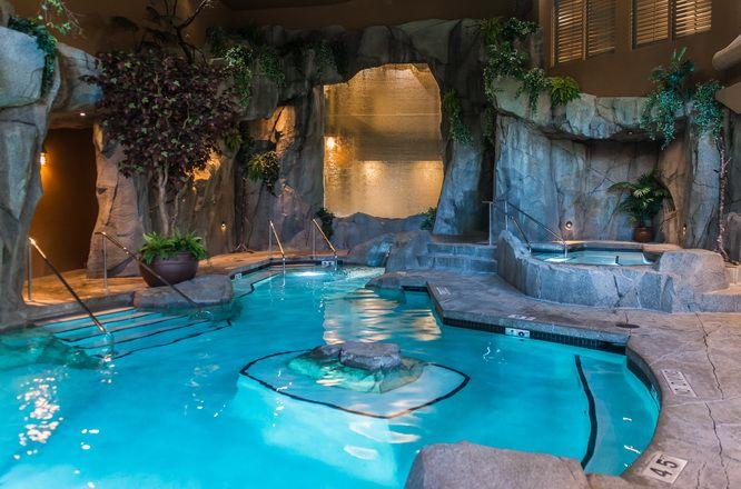Grotto Spa at Tigh-Na-Mara resort near Parksville, BC