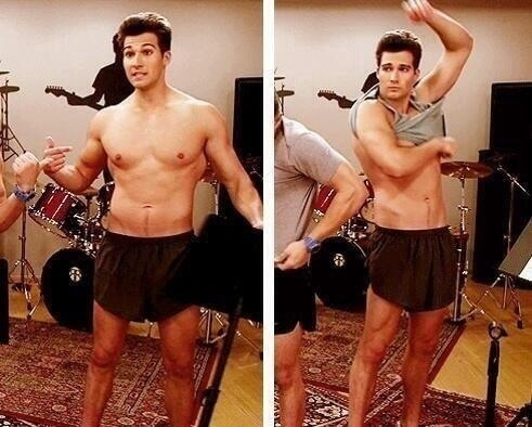 James maslow bulge chick but