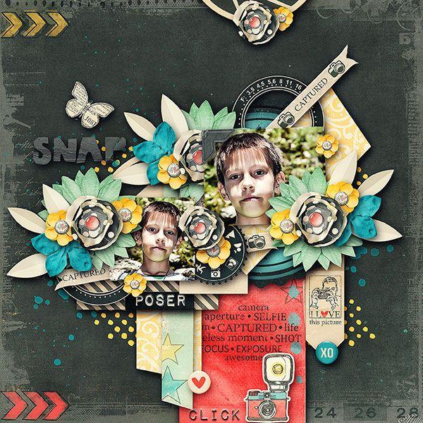 Captured Designs by Blagovesta template Lemon Soda Part2 by Eudora Designs