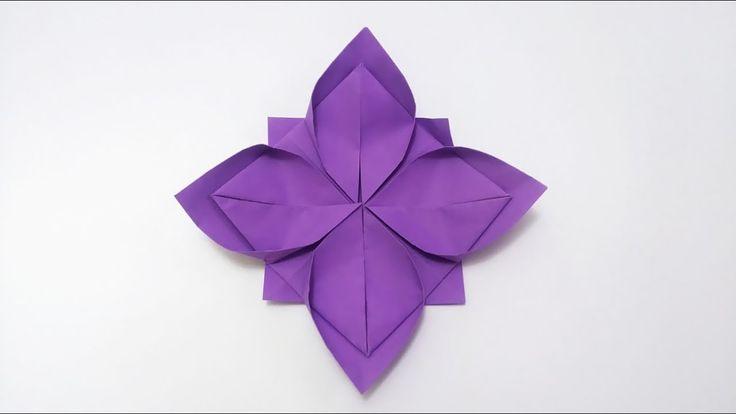 Kwiat Lotosu Origami Poradnik