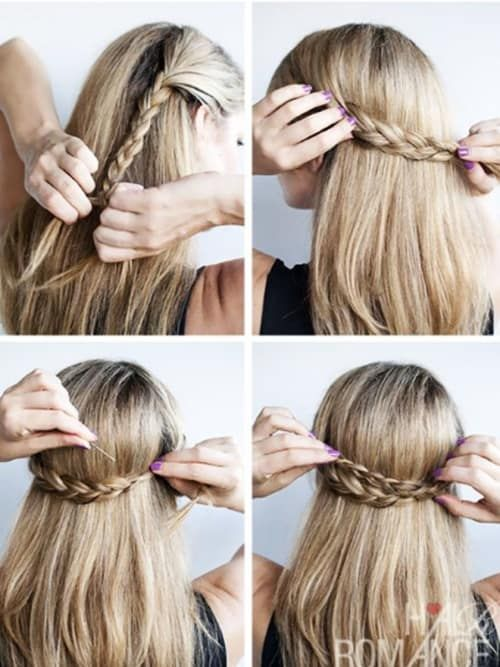 Fast Oktoberfest Hairstyles: Ready for the Oktoberfest in 5 minutes!