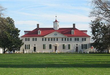 Mount vernon home of george and martha washington today for George washington plantation