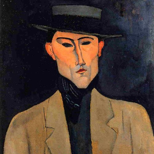 """Every art expression is rooted fundamentally in the personality and temperament of the artist."" - Hans Hofmann  Which is your favourite painting from Modigliani? Comment below! #arte #quadri #portrait #italy #italianartist #italianpaint"