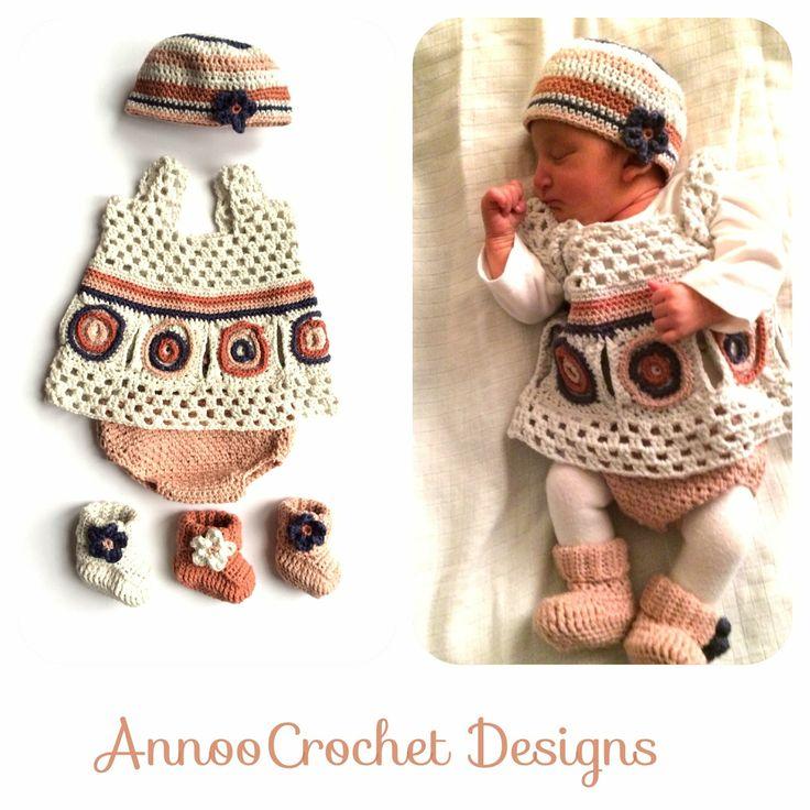 72 best für Kinder Kleidchen images on Pinterest   Stricken häkeln ...