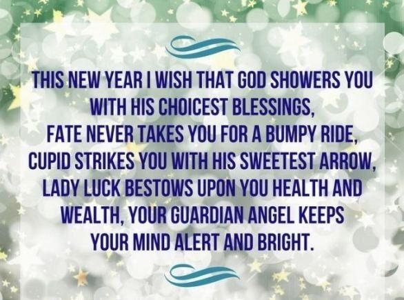 wishes for new year blessings for friends