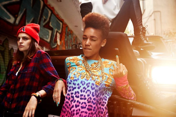 Cropp campaign ||| Torronto 2014 ||| #girls #afro