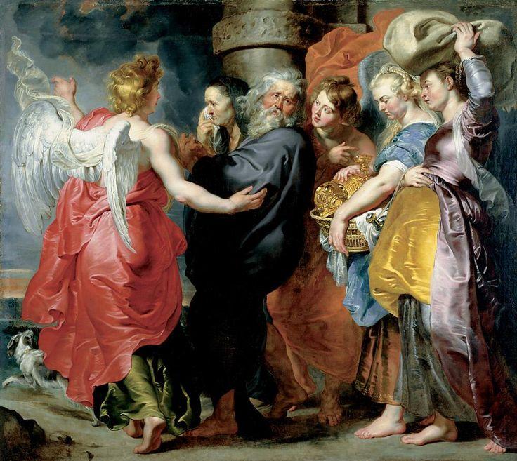 Η φυγή του Λωτ με την οικογένειά του από τα Σόδομα (1618-20) Εθνικό Μουσείο Δυτικής Τέχνης στο Τόκιο