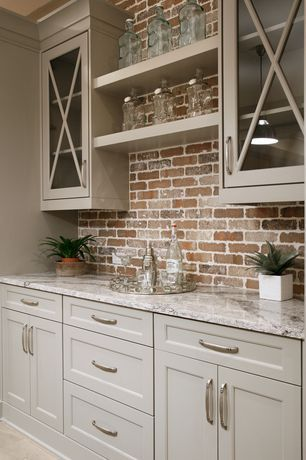 """View this Great Modern Bar with Built-in bookshelf & interior brick by Construction Resources. Discover & browse thousands of other home design ideas on Zillow Digs."""