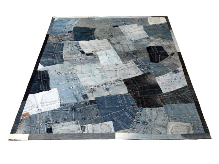 ber ideen zu denim teppich auf pinterest flickenteppich denim steppdecken und alte jeans. Black Bedroom Furniture Sets. Home Design Ideas