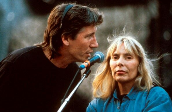 Roger Waters and Joni Mitchell