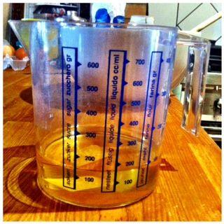 150 ml of seed oil  150 ml diolio di sem