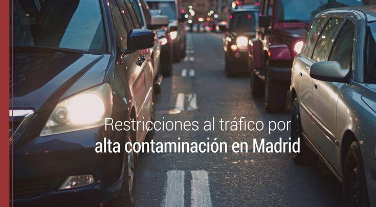 Ante un nuevo episodio de alta contaminación en Madrid surge la duda ¿sirven las restricciones al tráfico solucionar el problema de contaminación?