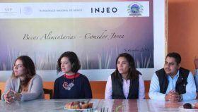"""Becas Alimentarias """"Comedor-Joven"""", impulso a la educación de mixtecos: INJEO"""
