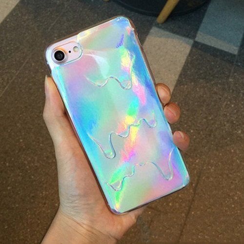 Luxury Hologram Iridescent Unicorn iPhone Case For iPhone 5 5S SE 6 6S 7 Plus